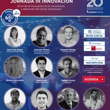 26/09 Jornada Anual de Innovación: El Rol de la Innovación en el crecimiento y desarrollo del sector empresario