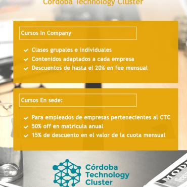 50% OFF en Idiomas - Convenio Cluster + Go! idiomas