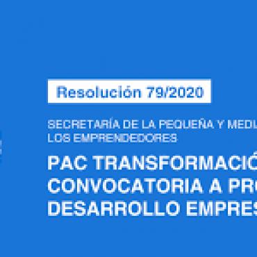 Convocatoria de PAC Transformación Digital - UVT ADEC