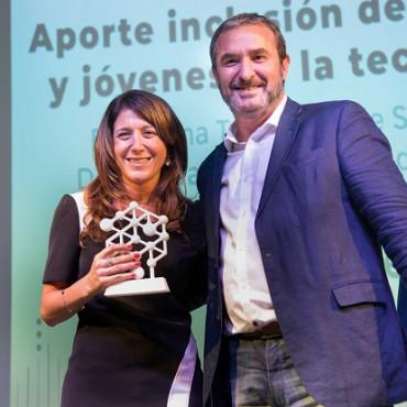 El programa TecnoFem, distinguido por Córdoba Technology Cluster