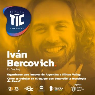 """14/09 [INVITACIÓN]:  """"Organizarse para innovar de Argentina a Silicon Valley"""" - ¿Cómo es trabajar en el equipo que desarrolló la tecnología de Alexa?"""