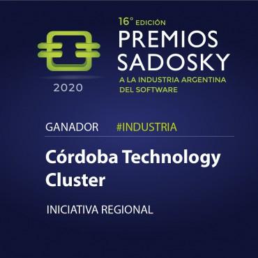 El ganador del #PremioSadosky2020 a la Iniciativa Regional es @ClusterCba