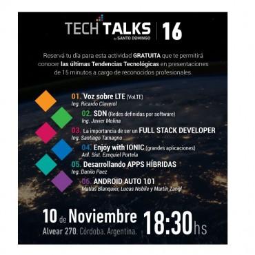Tech TALKS / Actividad Gratuita