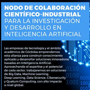 Nodo de Colaboración Científico - Industrial para Investigación y Desarrollo en Inteligencia Artificial - NOVEDADES / MARZO 2018