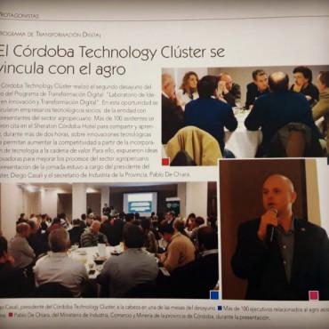 El Córdoba Technology Cluster se vincula con el agro