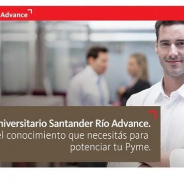 Programa Universitario de Formación en Gestion Pyme/ Sin cargo - Convenio Santander Río + Cluster