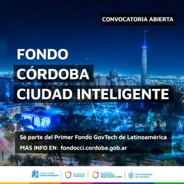 1° Convocatoria del Fondo Córdoba Ciudad Inteligente
