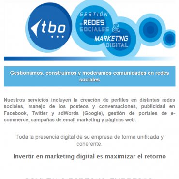 PACK de Beneficios Community Manager - Convenio Cluster + TBO