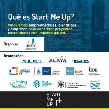 29/10 Invitación - Start Me Up: un espacio de networking
