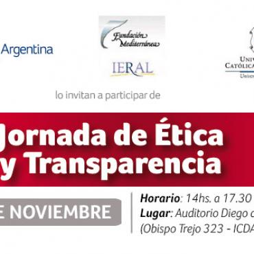 03/11 JORNADA DE ÉTICA Y TRANSPARENCIA