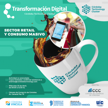 "25/04 [SECTOR RETAIL] [INVITACIÓN] Desayuno - Programa ""Laboratorio de Ideas en Innovación y Transformación Digital"""