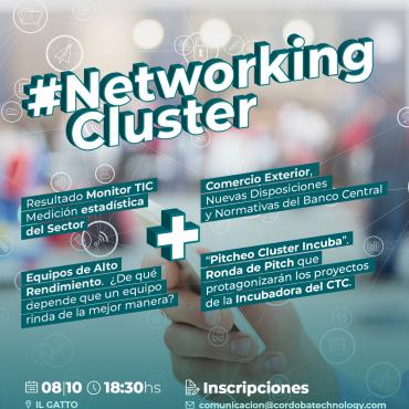 08/10 [INVITACIÓN]: NETWORKING CLUSTER