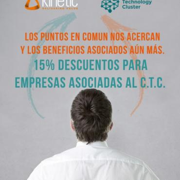 15% OFF - Capacitaciones/ Gestión de requerimientos/ PMI/ Inteligencia Emocional - Convenio Cluster + Kinetic