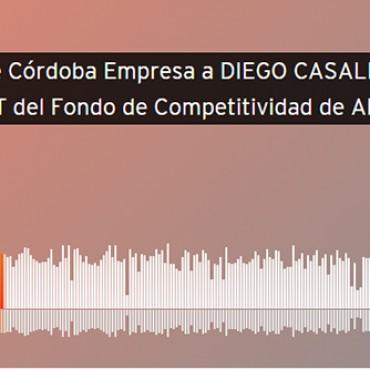 Entrevista a nuestro presidente Diego Casali en el micro Córdoba Empresa para Radio Mitre Córdoba