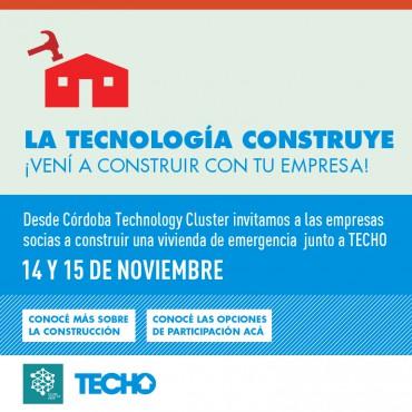 20/10 - Convenio Cluster + TECHO - Construí con tu EMPRESA! Acción RSE
