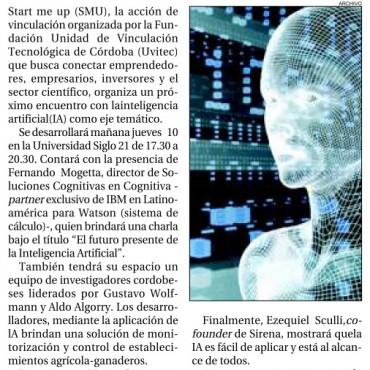 Inteligencia artificial, vínculo entre la ciencia y la empresa