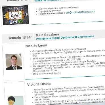 Segunda Jornada de Networking y Capacitación Cluster - PARA DISFRUTAR!