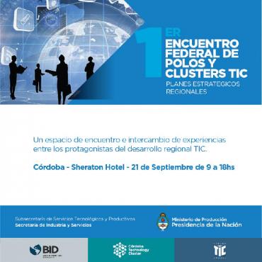 21/09 1er ENCUENTRO FEDERAL DE POLOS Y CLUSTERS TIC