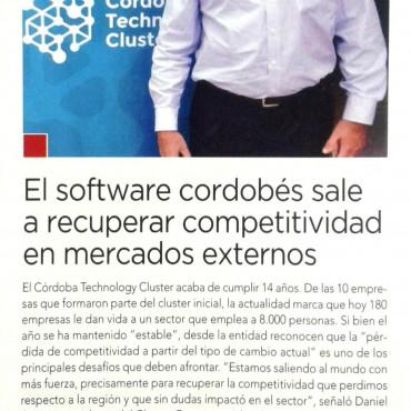 El Software cordobés sale a recuperar la competitividad en mercados externos