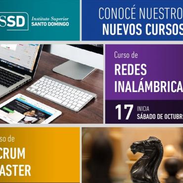 20% Cursos Scrum / Redes - Convenio Cluster + ISSD