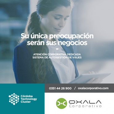 CONVENIO Córdoba Technology Cluster + Oxala Corporativo