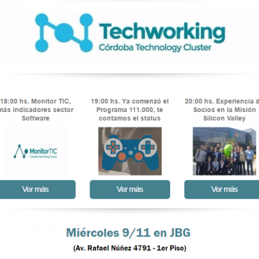 TECHWORKING CLUSTER- Experiencia Tech