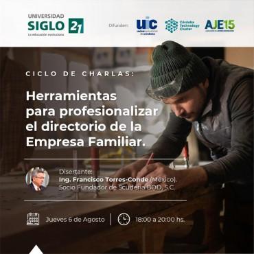 Invitación Ciclo Virtual de Empresa Familiares