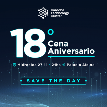 27/11 [SAVE THE DATE] Cena 18° Aniversario Cluster