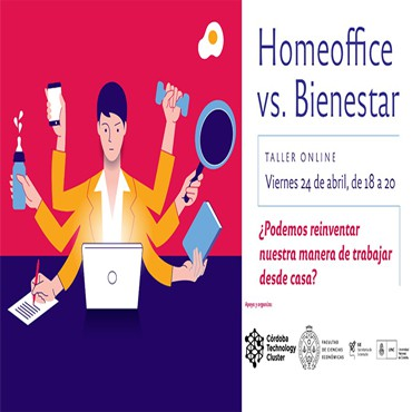 [INVITACIÓN]: Taller virtual Home Office vs Bienestar