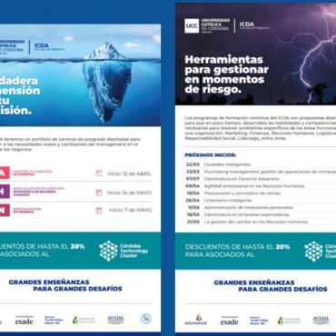 CTC + Universidad Católica de Córdoba/ ICDA/ Formación Continua JS