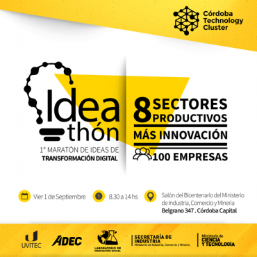 Ideathon - 1° Maratón de Ideas de Transformación Digital