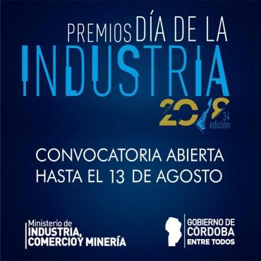 13/08 [CONVOCATORIA] Postulaciones/ Premios Día de la Industria 2018