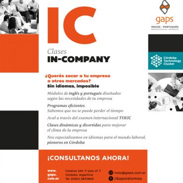 20% OFF - Capacitá a tu empresa en Idiomas - Convenio Cluster + Gaps