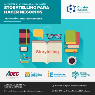 09/08 [CAPACITACIÓN]: Storytelling para hacer Negocios