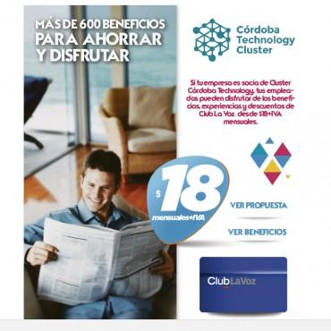 Convenio Cluster + Club La Voz