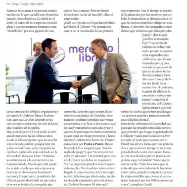 El Córdoba Technology Clustr en alerta por cacería de talentos de Mercado Libre