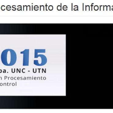 6 y 9 de oct. RPIC 2015 - XVI Reunión de trabajo en Procesamiento de la Información y Control